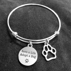 Jewelry - 🐶🐾 Save A Life Adopt A Dog Bracelet ❗️FIRM❗️
